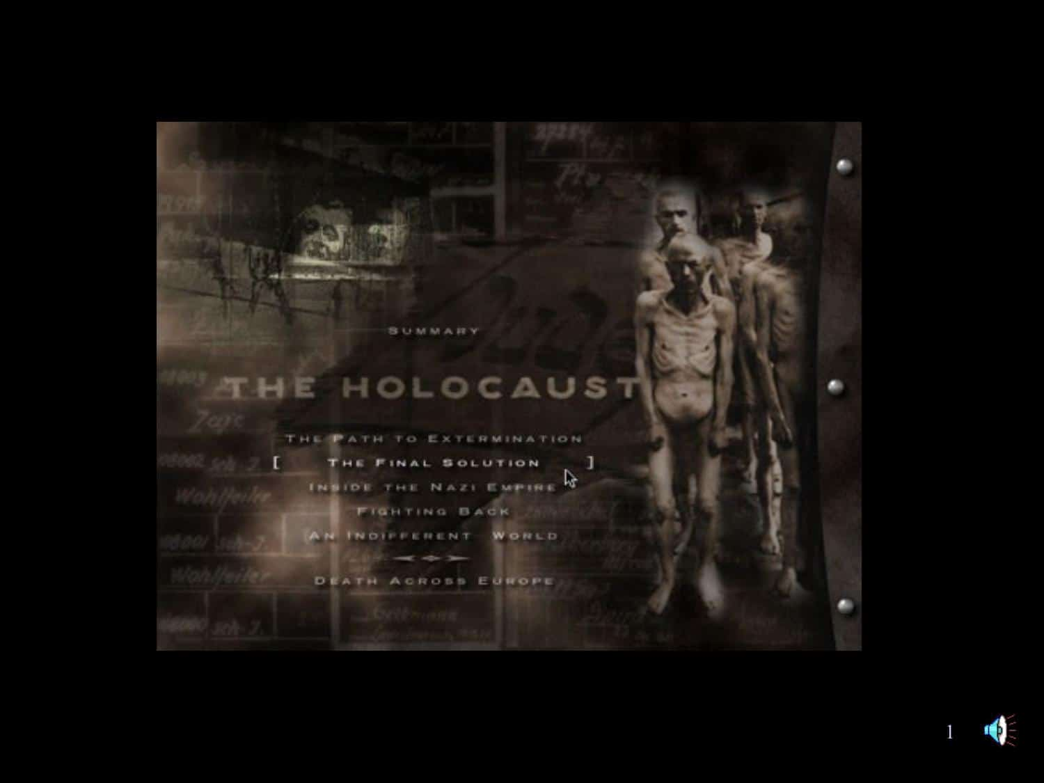 Holocaust Visual Introduction Powerpoint | KS3 Lesson Plan