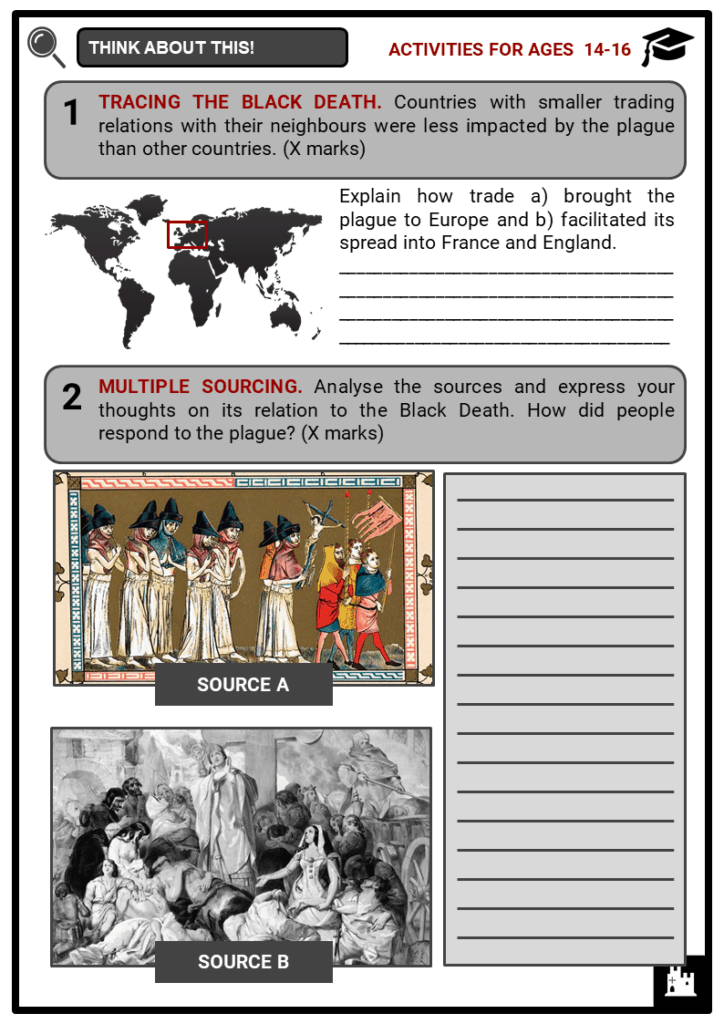 The Black Death Student Activities & Answer Guide 3