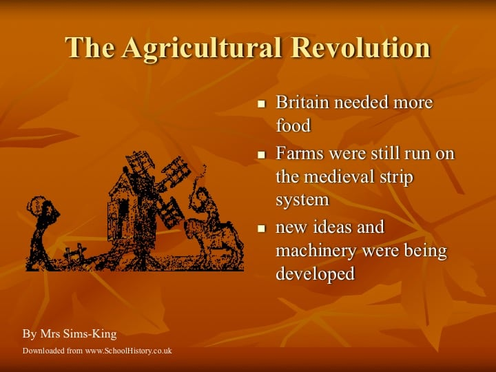 the agricultural revolution facts  u0026 information powerpoint