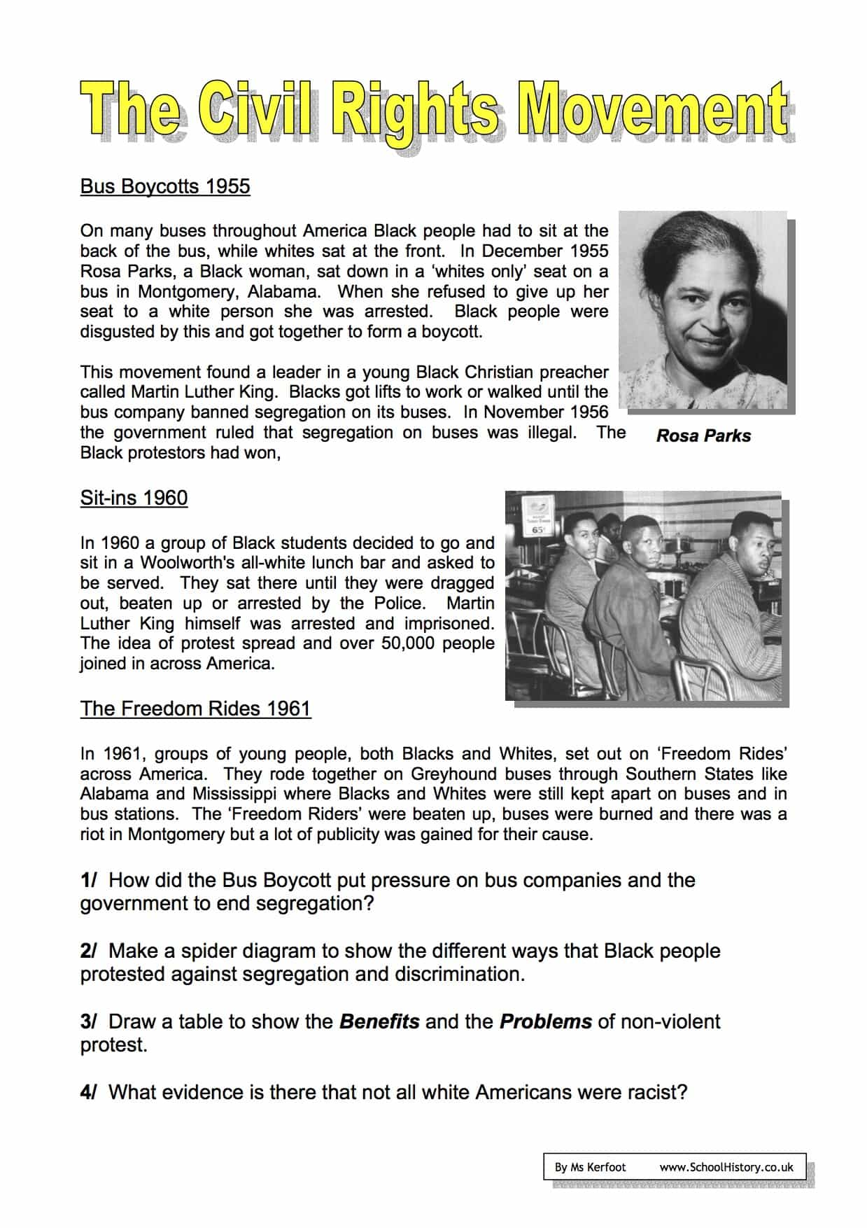 The Civil Rights Movement Worksheets Year 9 Free Pdf Civil Rights Movement Worksheets Answer Download The Civil Rights Movement Worksheets