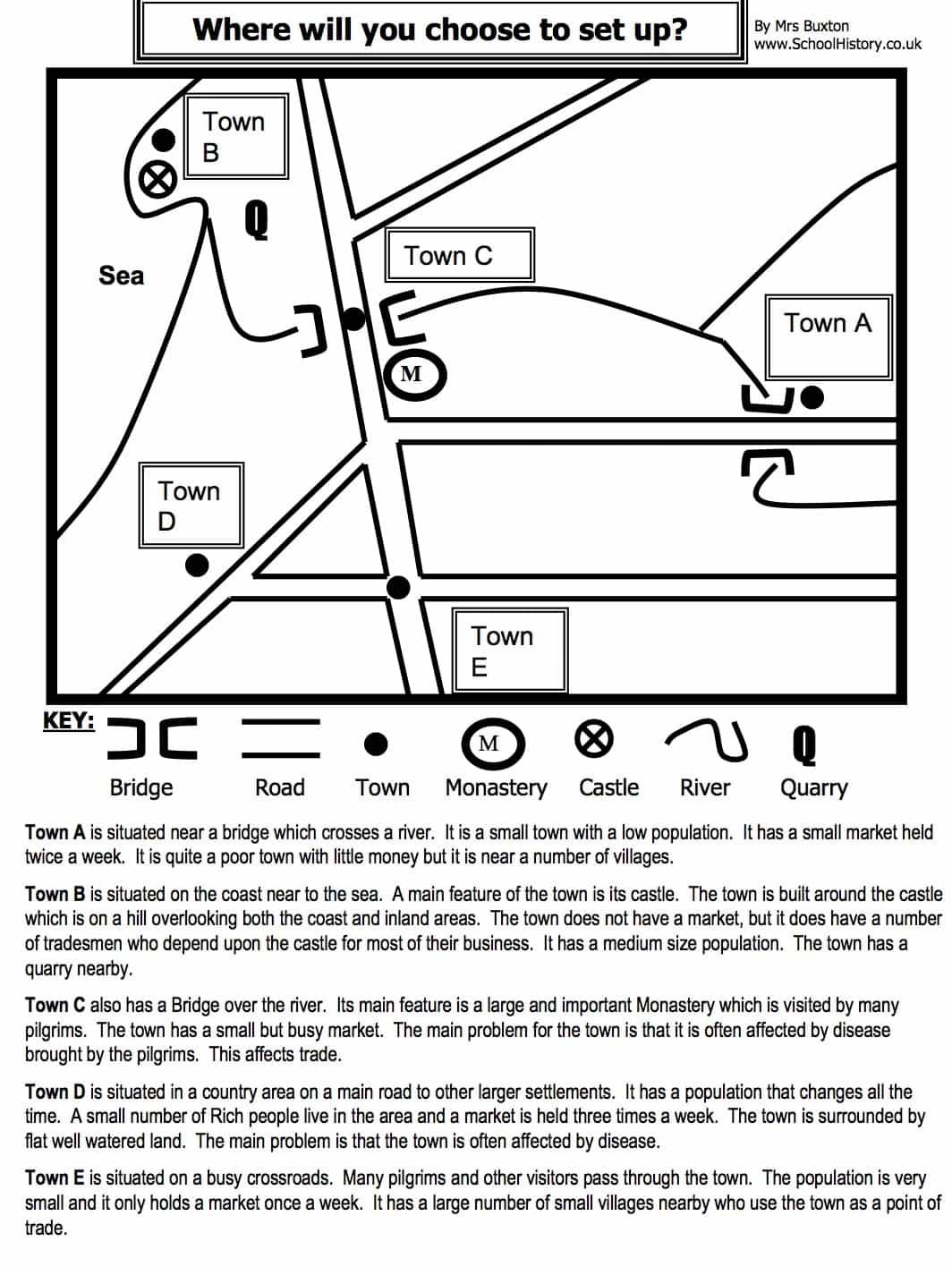 free history worksheets ks3 ks4 lesson plans resources. Black Bedroom Furniture Sets. Home Design Ideas