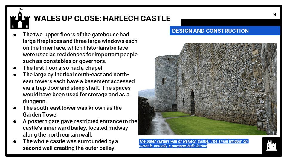 3C_ Historic Environment Harlech Castle, c.1282-1647, Presentation 2