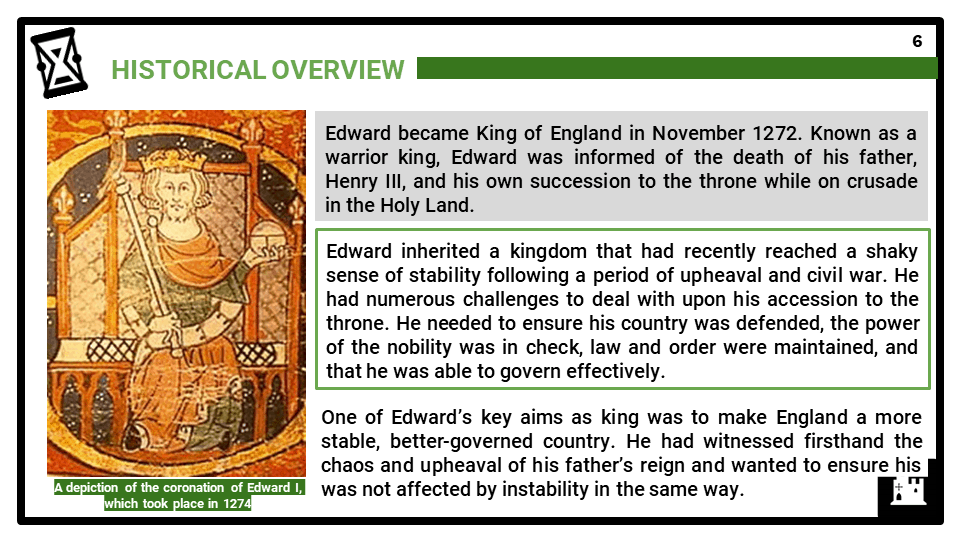 AQA_BB Medieval England - the reign of Edward I, 1272-1307_Part One_ Government, the rights of King and people Presentation