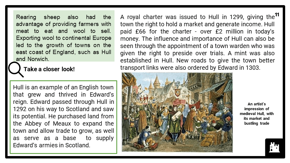 AQA_BB Medieval England - the reign of Edward I, 1272-1307_Part Two_ Life in Medieval England Presentation