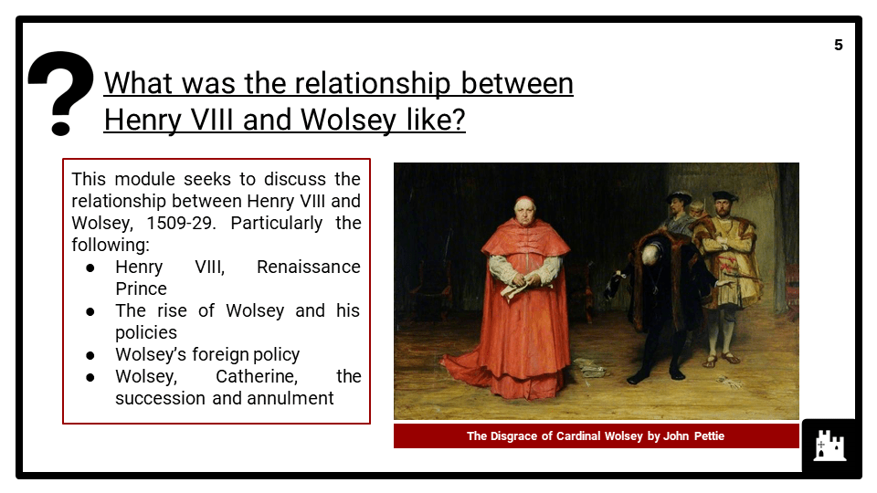 Edexcel_P2_B3_1_ Henry VIII and Wolsey, 1509-29 presentation