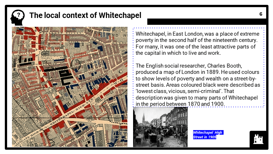 Whitechapel, c1870-c1900_ crime, policing and the inner city, Presentation