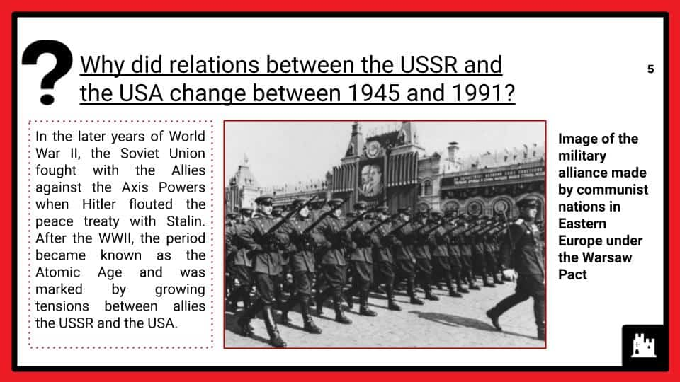Cold War Relations, 1945-91