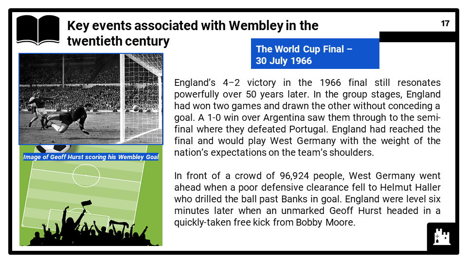 HE 2020-2021 The development of Wembley Stadium in the twentieth century, Presentation 2