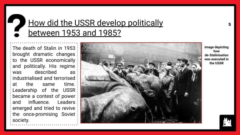 Political Developments, 1953-85