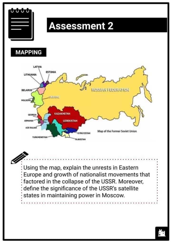 The Collapse of Communism and the Break-up of the USSR Assessment1