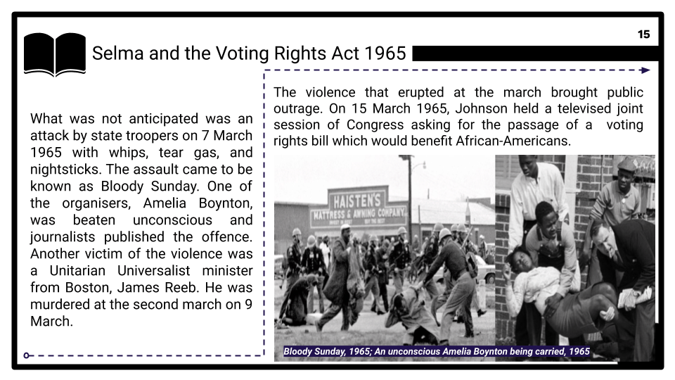 2 - Peaceful protests and their impact, 1963–65