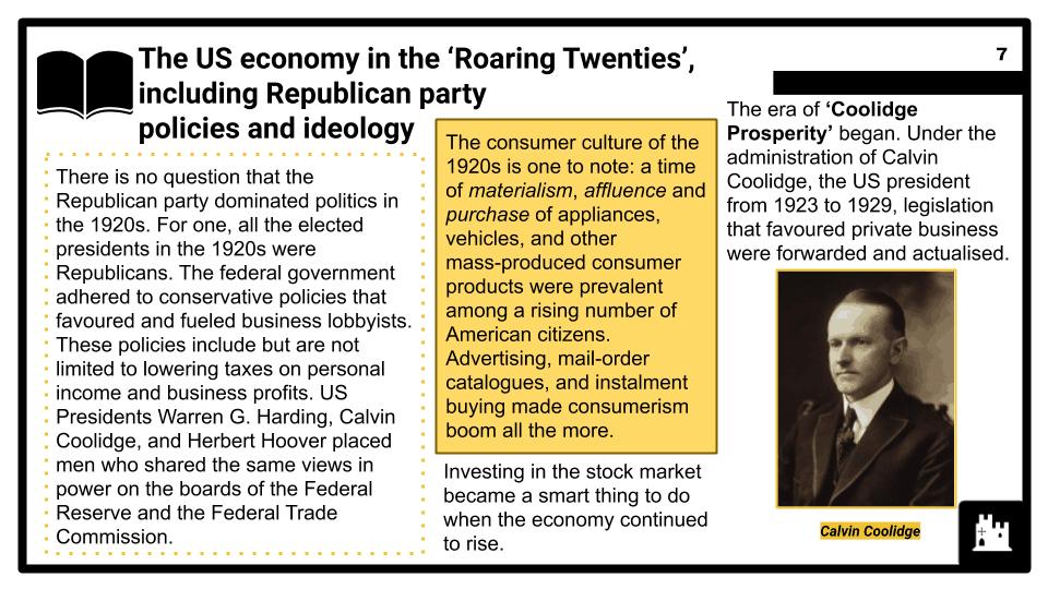 Part one_ The 'Roaring Twenties' (1)
