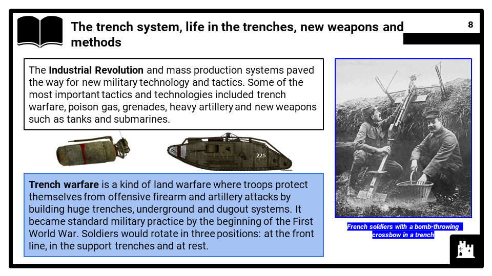 A1_ The Schlieffen Plan and deadlock on the Western Front, Presentation