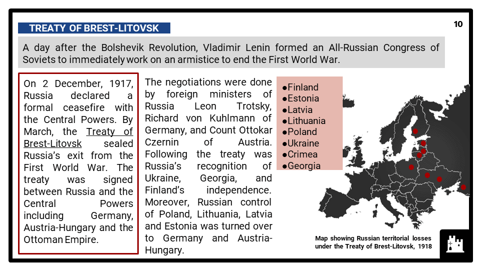 Edexcel Int A2_Russia and the Soviet Union, 1905-24_Part 4 Presentation