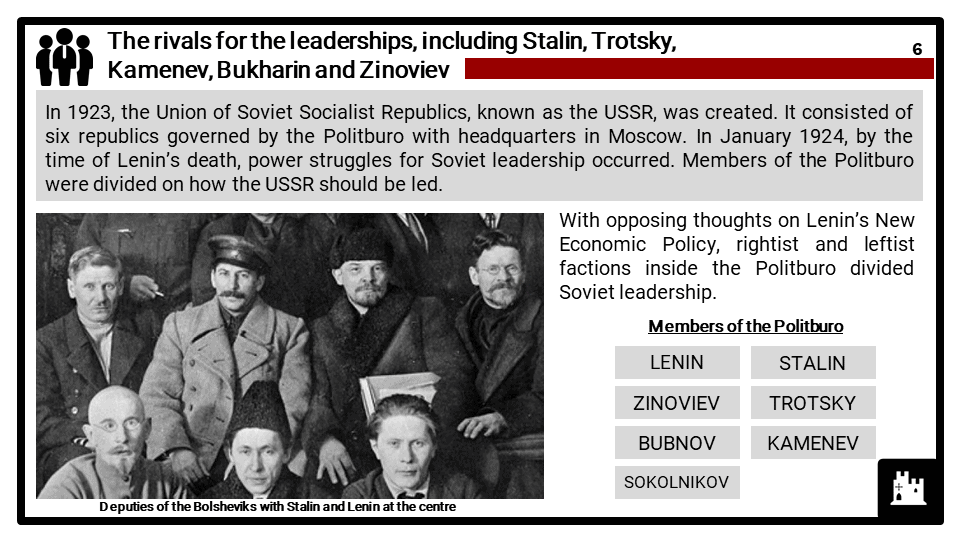 Edexcel Int P1_5 Dictatorship and conflict in the USSR, 1924-53_Part 1 Presentation