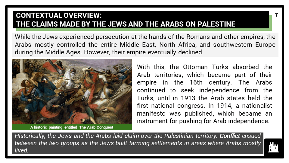 Edexcel Int. B7 The Middle East_ conflict, crisis and change, 1917-2012_1 Build up of tension in Palestine, 1917–46