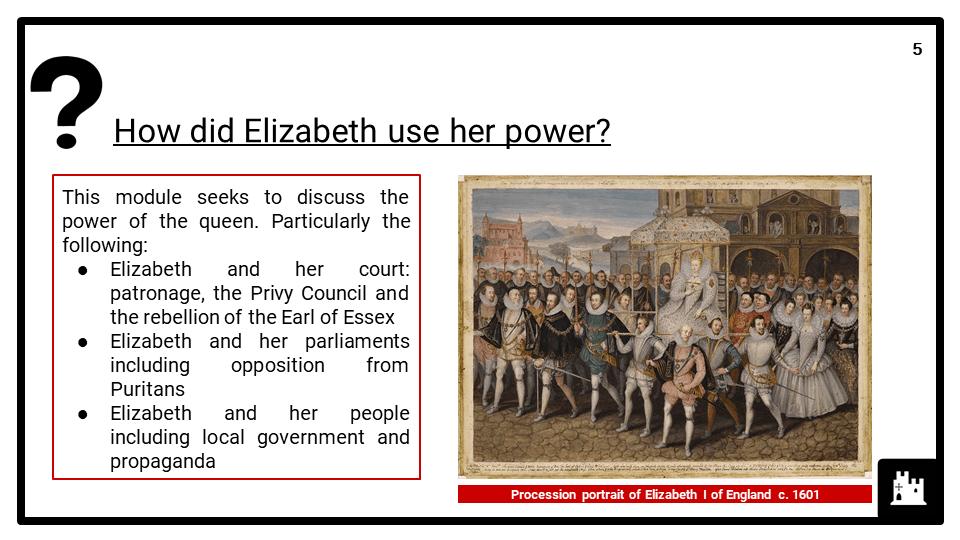 OCR B The Elizabethans, 1580-1603_1 Elizabeth and government