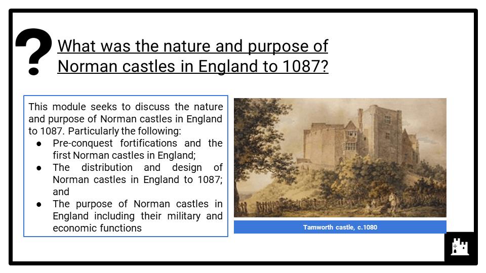 OCR B The Norman conquest, 1065-1087_4 Castles