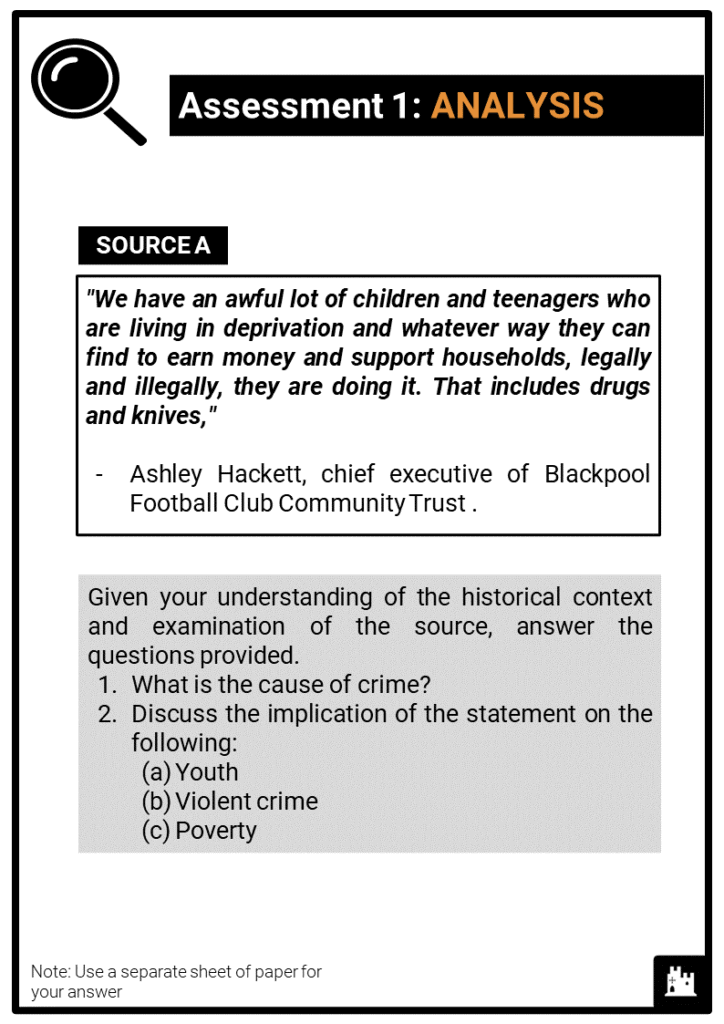 OCR B_Crime and Punishment, c.1250 to present_Britain since c1900 Assessment