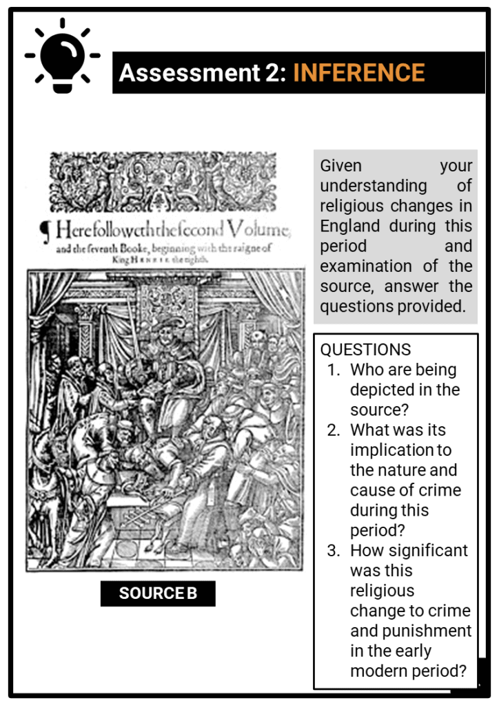 OCR B_Crime and Punishment, c.1250 to present_Early Modern Britain C.1500-c1750 Assessment