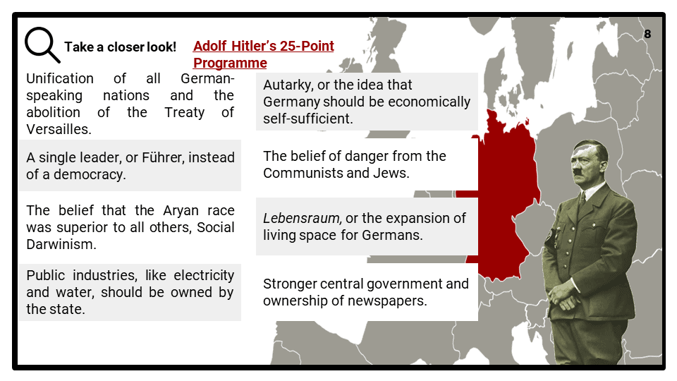 OCR B_Living under Nazi Rule, 1933-1945_Dictatorship Presentation