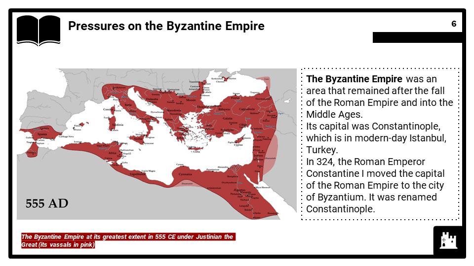 OCR B_Origins c.1070-1095, The First Crusade, Presentation