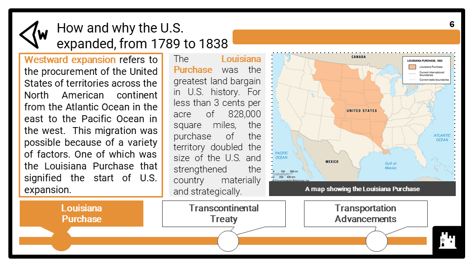 Part 1 - America_s expansion 1789-1838 presentation