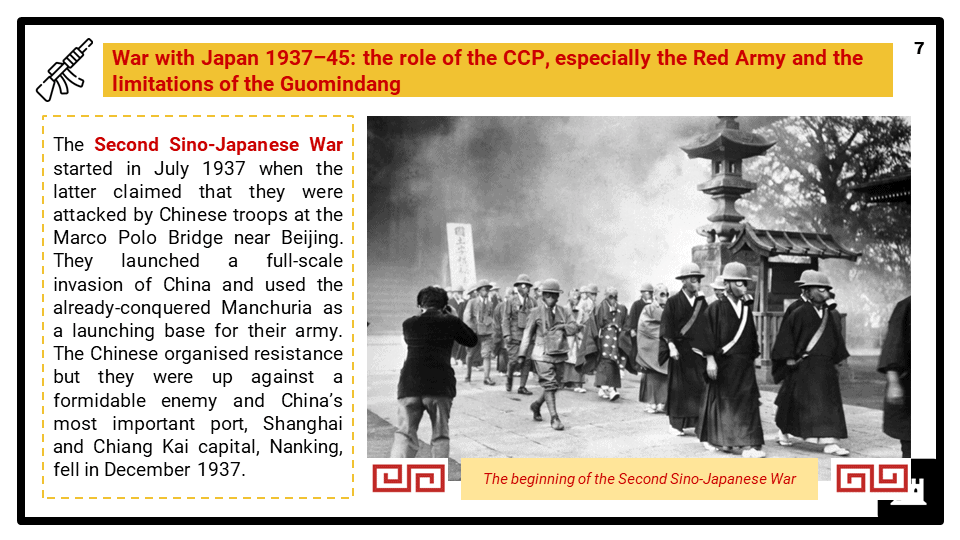 Part 2 - The triumph of Mao and the CCP, 1934-49 presentation