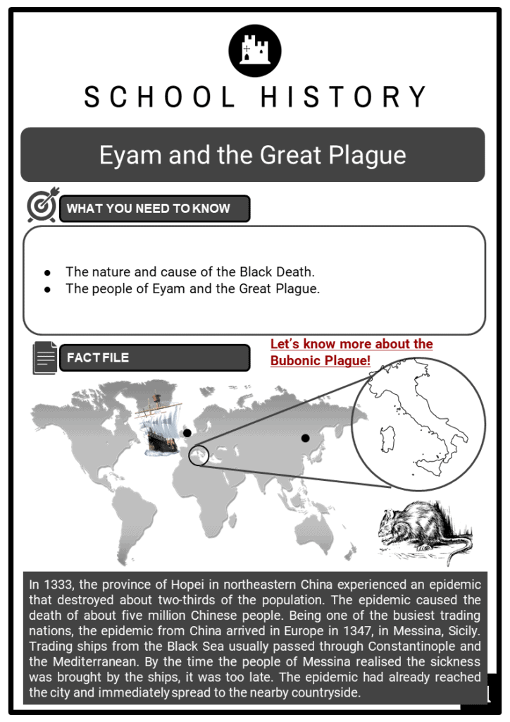 Eyam and the Great Plague Resource Collection 1