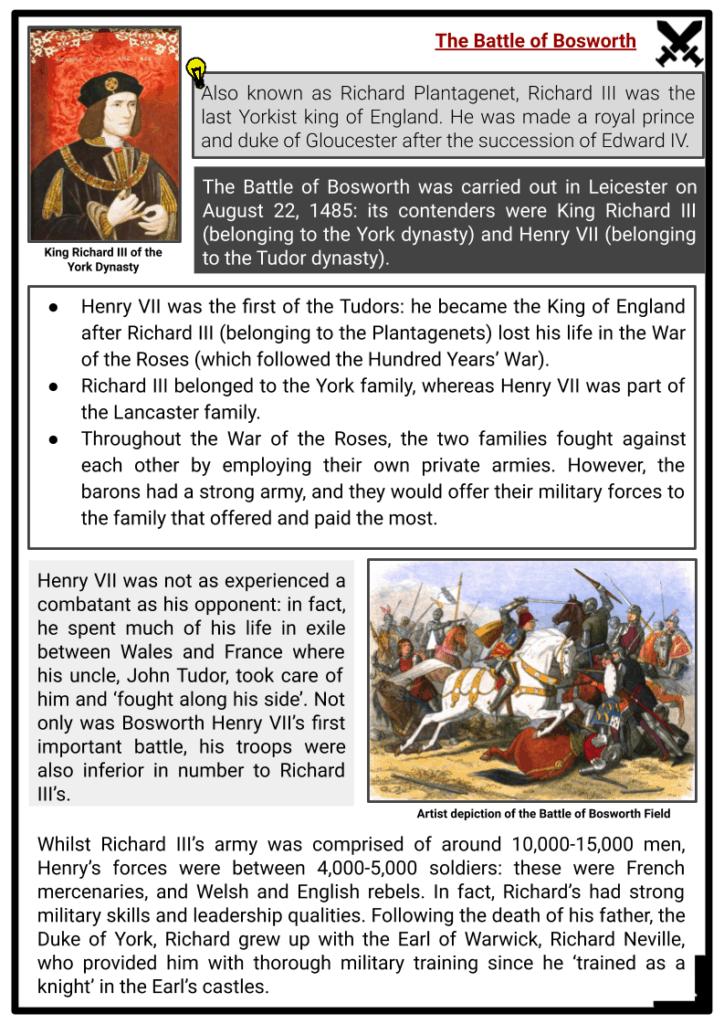 Henry VII of England Resource