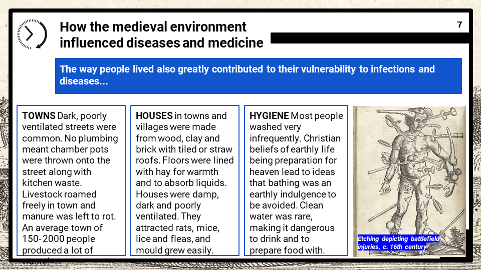 The People's Health, c.1250 to present OCR B GCSE History 9-1 Lesson Resources