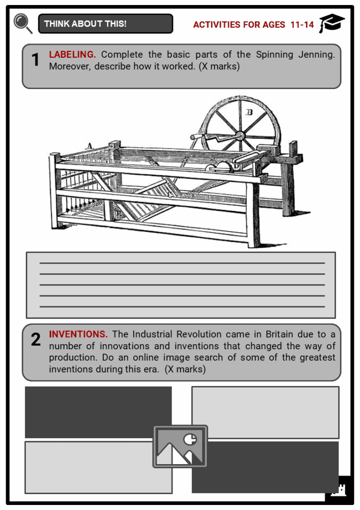 Spinning Jenny Student Activities & Answer Guide 1