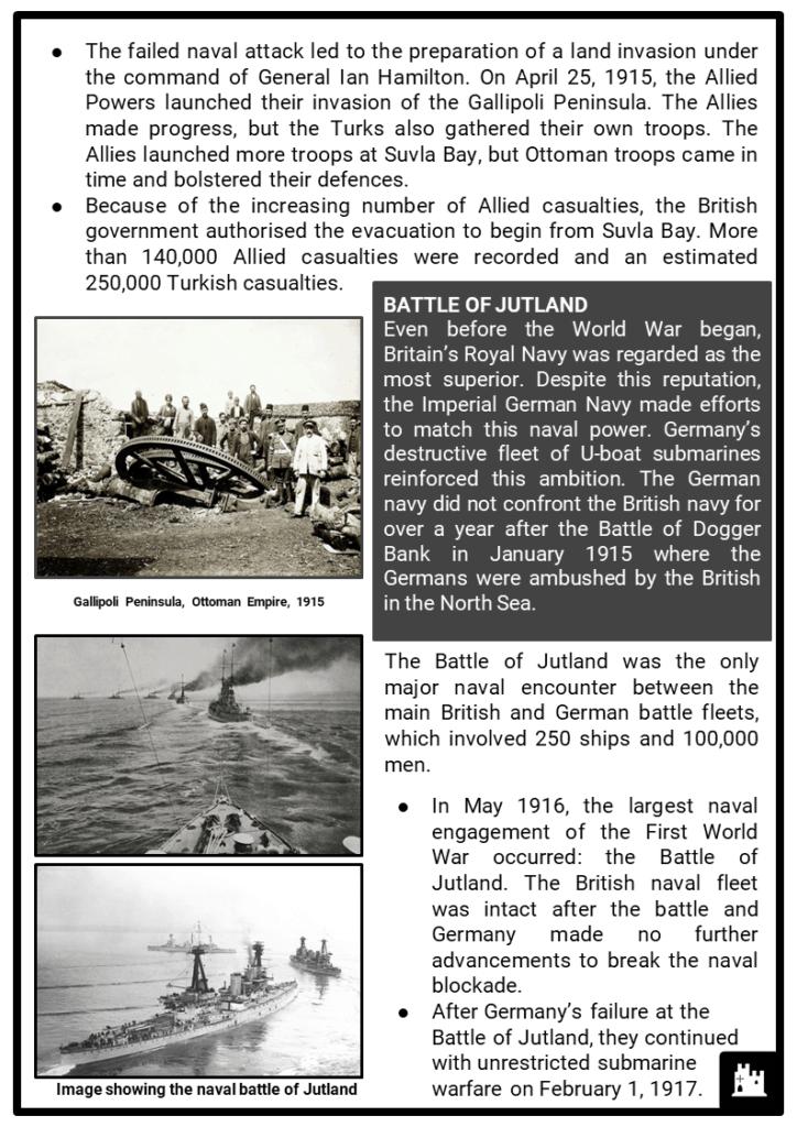 The Great War (World War I) Resource Collection 2