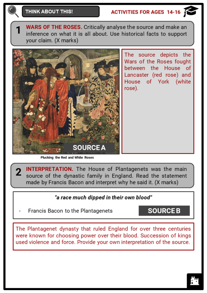 The Tudor Family Tree Student Activities & Answer Guide 4