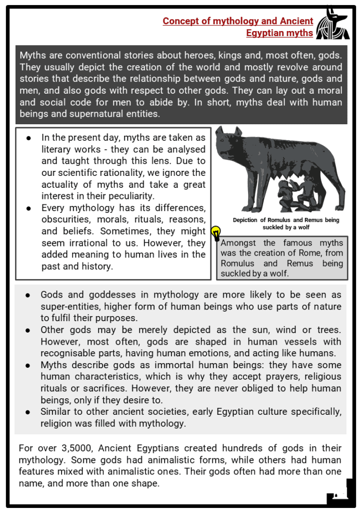 Ancient Egyptian Gods and Goddesses Resource Collection 2