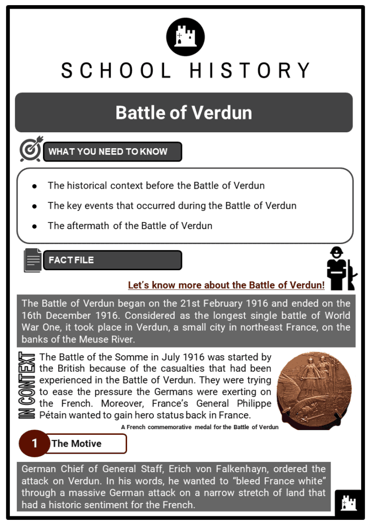 Battle of Verdun Resource Collection 1