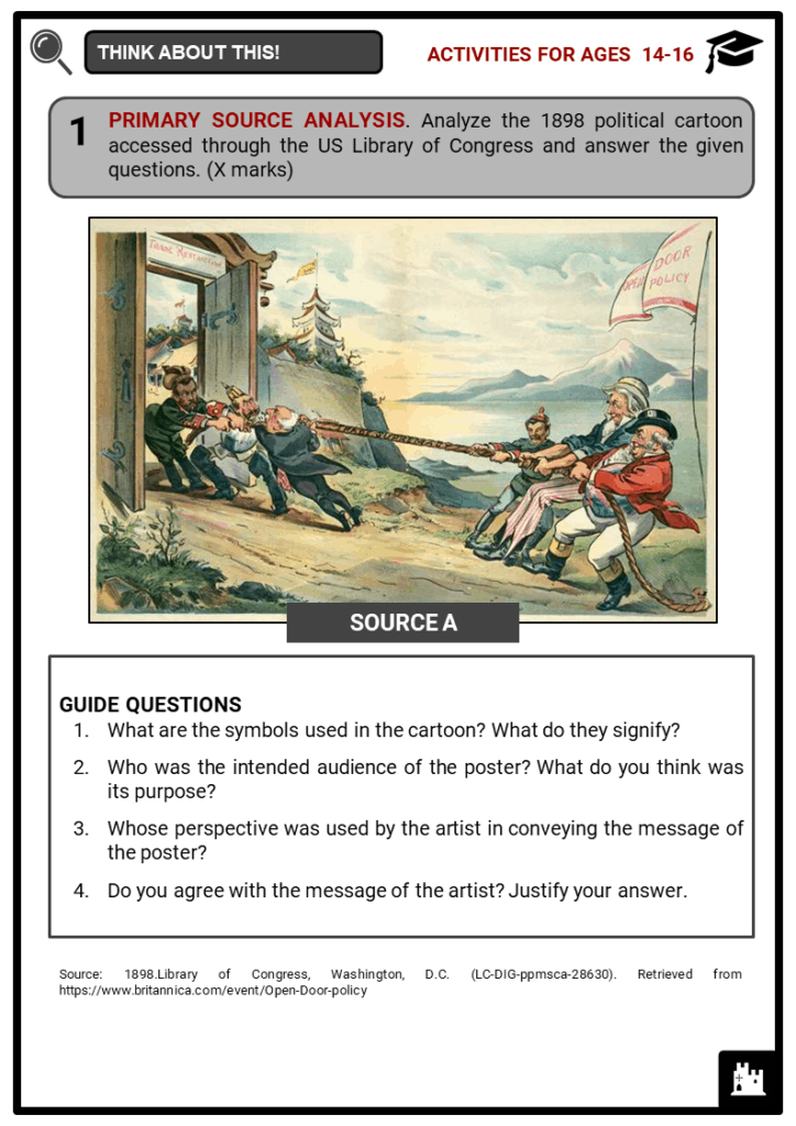 China between 1900 and 1947 Student Activities & Answer Guide 3