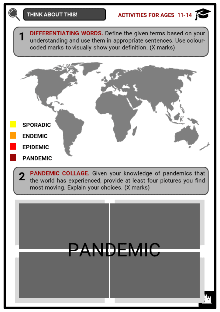 Epidemics and Pandemics in History Student Activities & Answer Guide 1