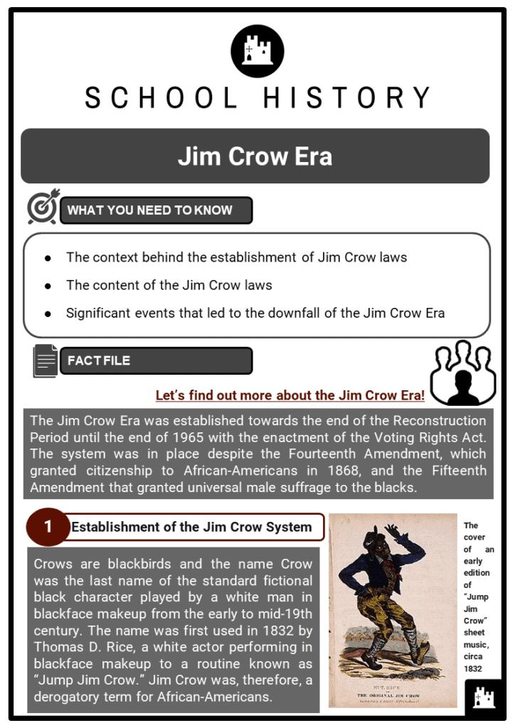 Jim Crow Era Resource Collection 1