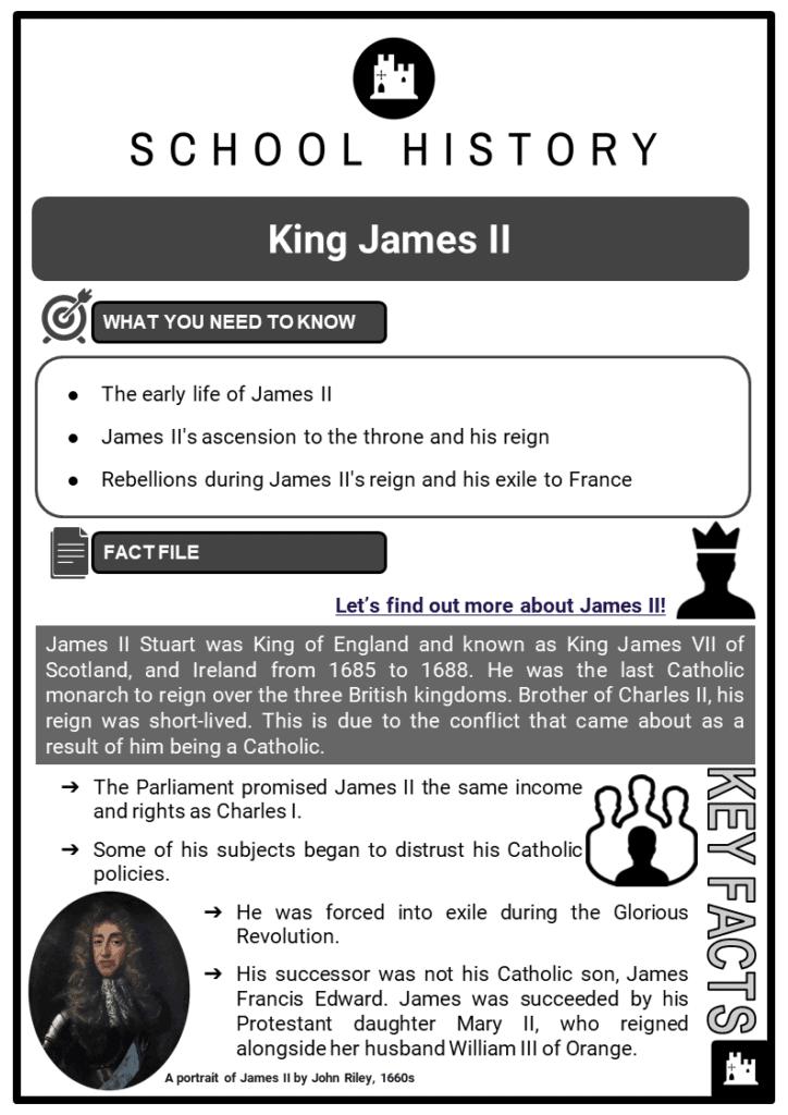 King James II Resource Collection 1