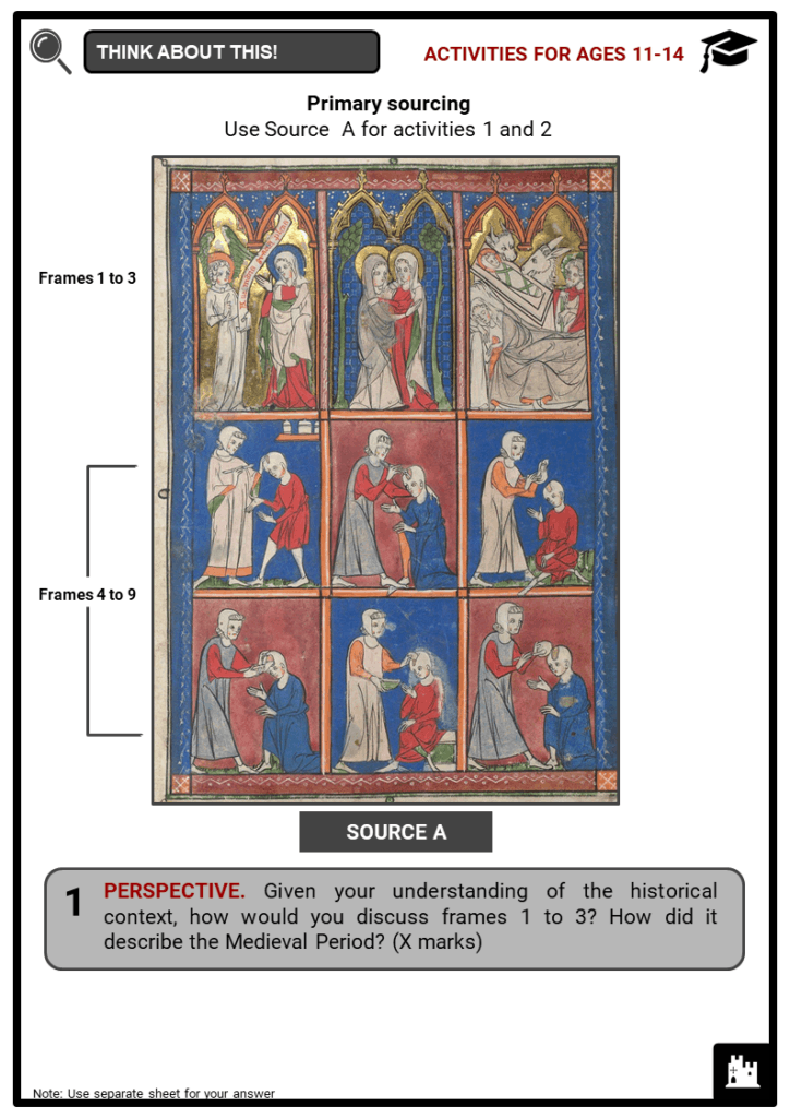 Medieval Medicine Student Activities & Answer Guide 3
