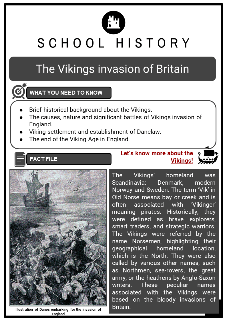 The Vikings invasion of Britain Resource Collection 1