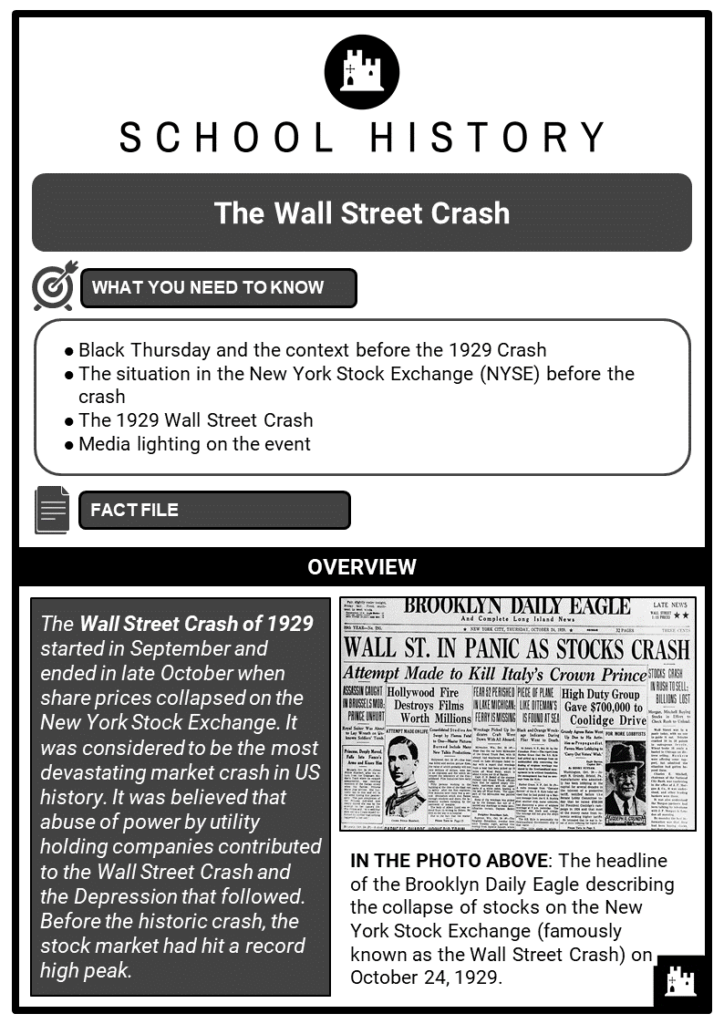 The Wall Street Crash Resource Collection 1