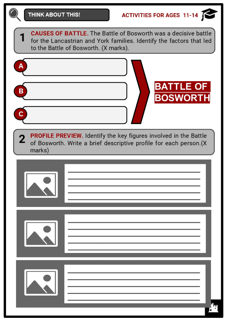 Battle of Bosworth Student Activities & Answer Guide 1