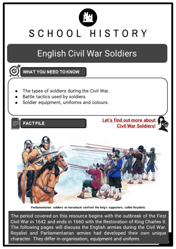 English Civil War Soldiers Resource Collection 1