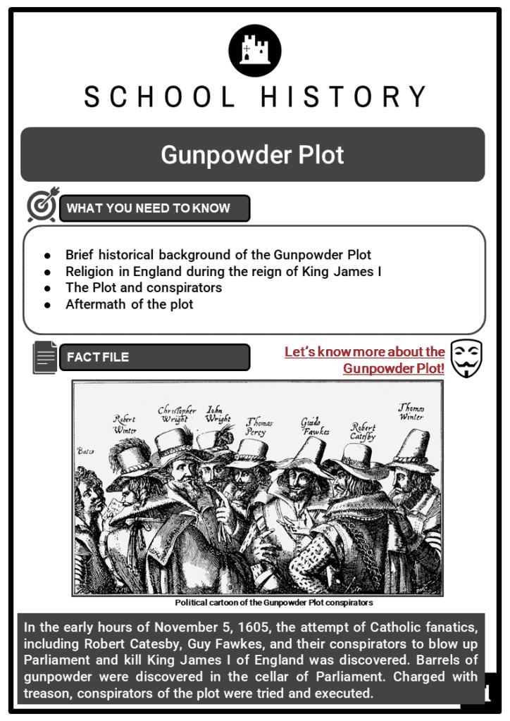 Gunpowder Plot Resource Collection 1