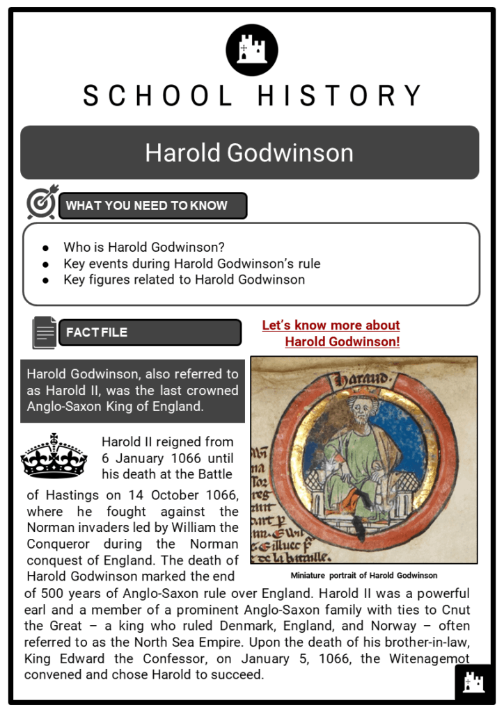 Harold Godwinson Resource Collection 1