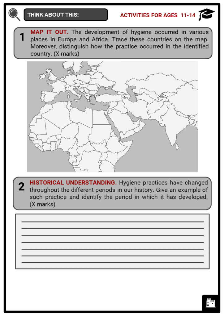 History of Hygiene Student Activities & Answer Guide 1