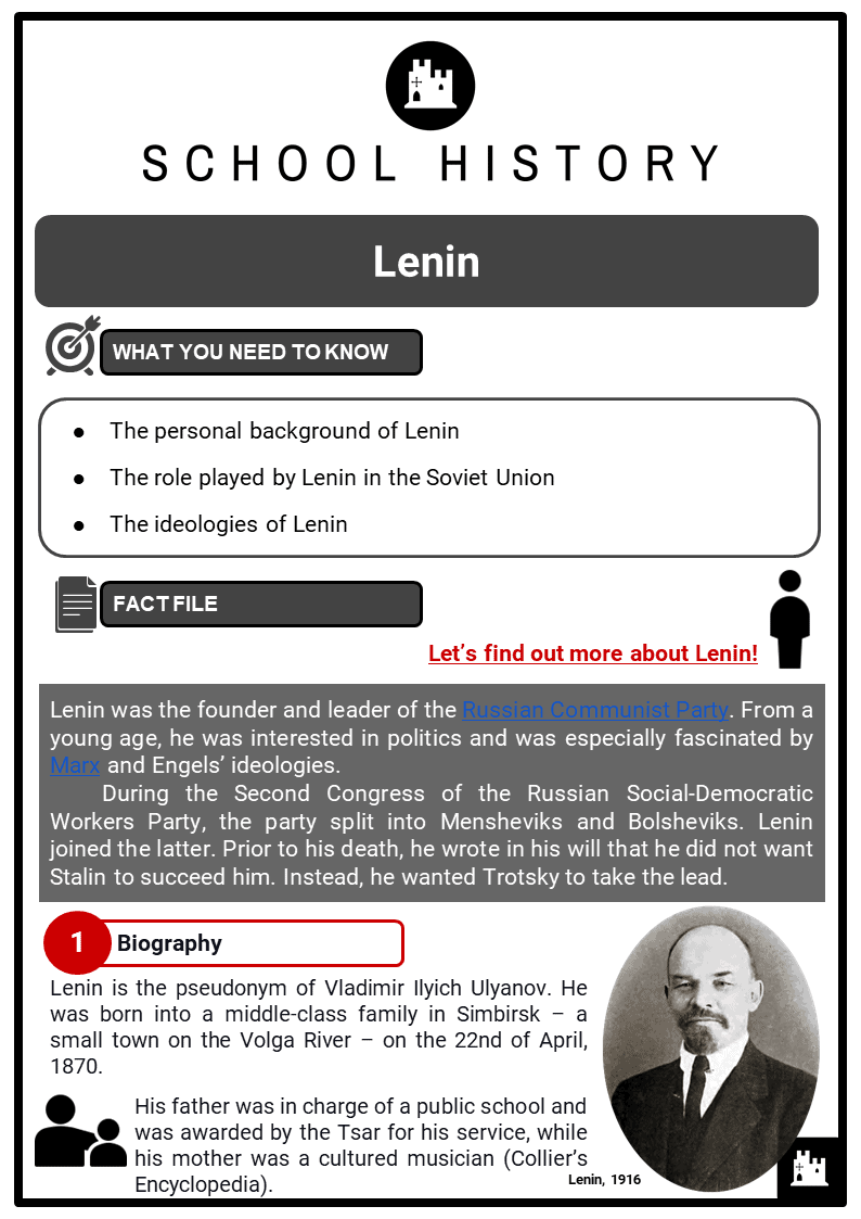 Lenin Resource Collection 1