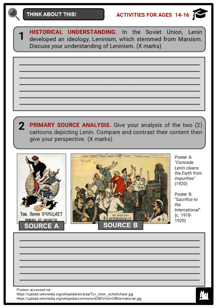 Lenin Student Activities & Answer Guide 3